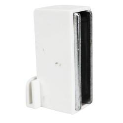 Support de signalétique droit pour meuble métal