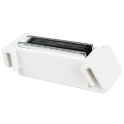 Support de signalétique incliné pour meuble métal