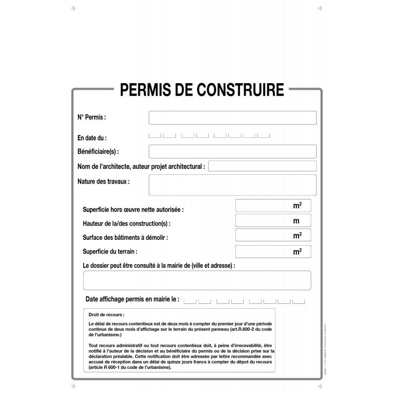 Panneau Akylux 80x120cm, imprimé quadri Recto, Immobilier
