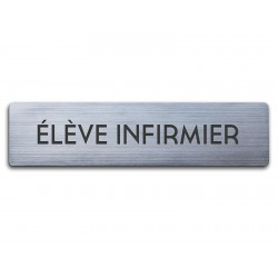 Badge Elève Infirmier rectangulaire