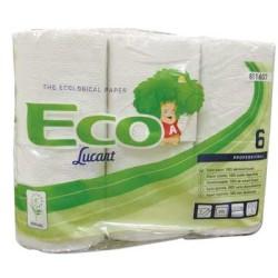 Papier hygienique standard blanc 2plis 200f lot de 96 rouleaux