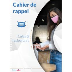 Cahier de rappel COVID pour restaurants
