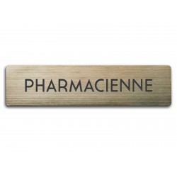 Badge Pharmacienne rectangulaire