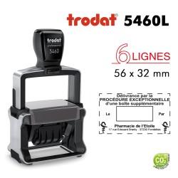 Tampon Dateur Trodat Métal line 5460 - Procédure exceptionnelle