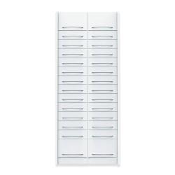 Pack de 2 colonnes à tiroirs équipées pour pharmacie