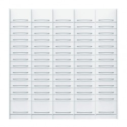 Pack de 5 colonnes à tiroirs équipées pour pharmacie