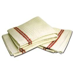 Serpilliere blanche 100 x 60 cm par 2