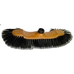 Balai soie 38 cm (douille à vis) + manche bois