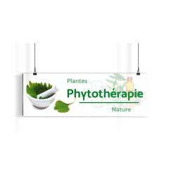 Bandeau d'ambiance gamme Pharmimage - Motif Phytothérapie
