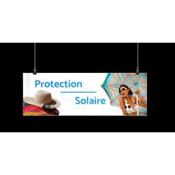 Bandeau d'ambiance gamme Pharmimage - Motif Protection solaire