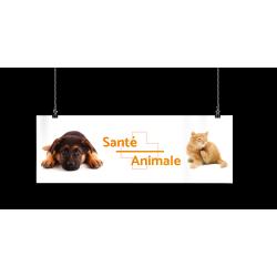 Bandeau d'ambiance gamme Pharmimage - Motif Santé Animale