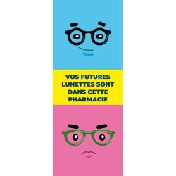 Kakémono de vitrine - Lunettes - 4