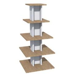 Gondole centrale pyramide, 5 niveaux