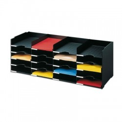 bloc classeur 4x5 cases a4 fixes h313l897p304mm