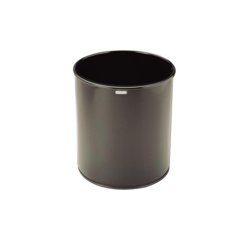 CORBEILLE A PAPIER ACIER EPOXY 15L D270H300mm