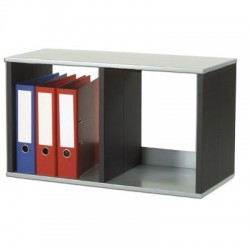 trieur de bureau 2 cases a4 h430l750p330mm