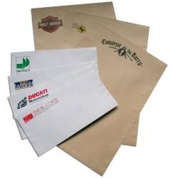 Enveloppes imprimées DL 110x220mm avec fenetre (par 500)