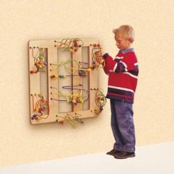 Boulier looping mural flat corner