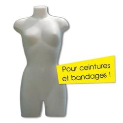 buste femme polystyrene 800x500mm