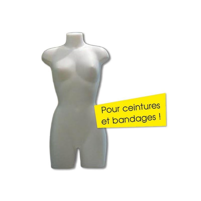 Mannequin - Buste femme en PVC 800 x 500 mm