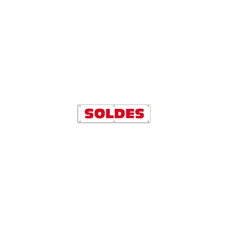 Banderole SOLDES (100x25cm)