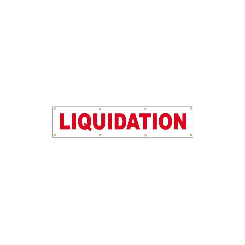 Banderole LIQUIDATION (180x40cm)