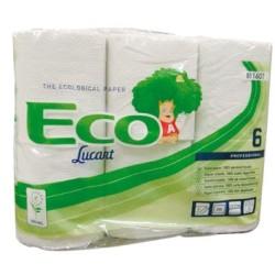 Papier hygienique eco blanc 3plis 250f lot de 30 rouleaux