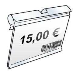 Porte étiquette pour broche T - Lot de 50