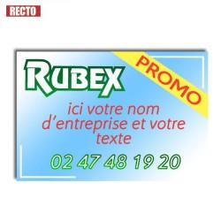 Panneau akylux 80x60cm, quadri Recto, Publicitaire