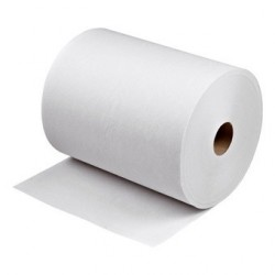 Papier hygienique roll 180md195mm blanc 2pli 486f lot 12rlx