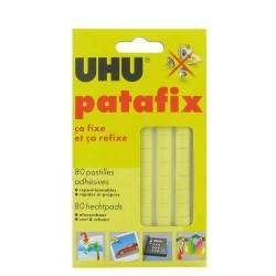 pate adhesive patafix 80 pastilles