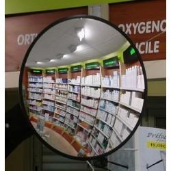 Miroir de sécurité intérieur,  diamètre 60 cm