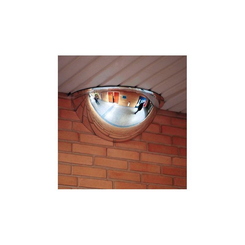 miroir hemispherique interieur vision 180° d100cm