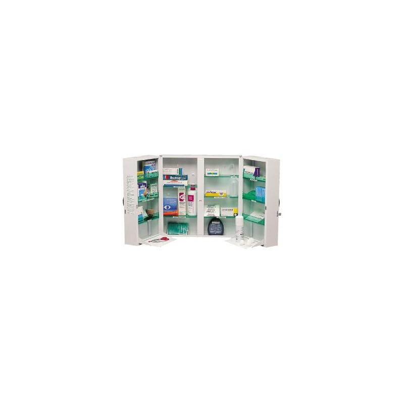 armoire a pharmacie 2 portes l520p200h540mm