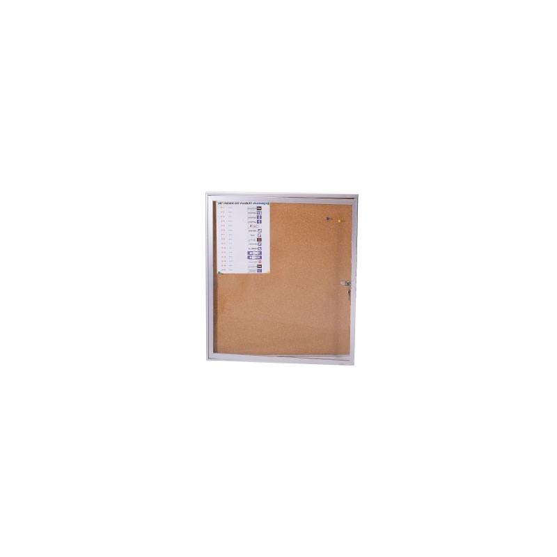 vitrine affichage interieur 970x700mm magnetique blanc effacable