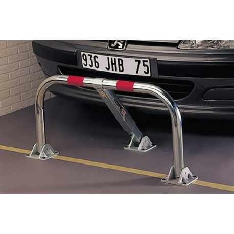 barriere parking rabatable 3 pieds