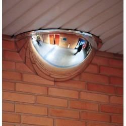 Miroir hémispherique intérieur vision 180° d60cm