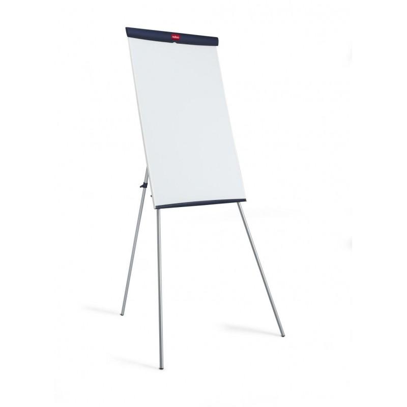 Chevalet de conference paperbord laque blanc 650x1000mm